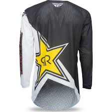 motocross gear ireland fly racing 2017 kinetic mesh rockstar motocross jersey mx enduro