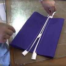 Upholstery Zips Sewing Zippers 101 Fold Under U0026 Hem First Approach Video Sailrite