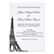 eiffel tower wedding invitations vintage postcard eiffel tower wedding invite wedding