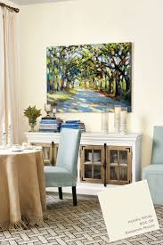 76 best art of rick reinert images on pinterest impressionist benjamin moore s acadia white paint color from ballard designs catalog