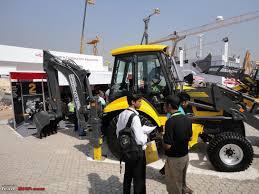 construction vehicles at bauma conexpo show 8 11 feb mumbai