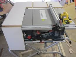 Bosch Table Saw Review by Bosch 4100 Outfeed Side Table Saw Extension By Michael J