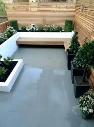 Backyard Cement Ideas Backyard Cement Designs Concrete Backyard Design Backyard Concrete