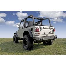 Rugged Ridge Tire Carrier Rugged Ridge Xhd Rear Bumper Cj Yj Tj 11546 10
