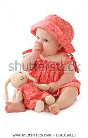 smiling 6 month baby stock photo 109189901