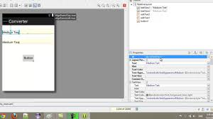 android studio ui design tutorial pdf android app programming tutorial making a simple converter app youtube