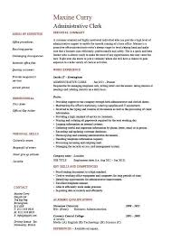 File Clerk Resume Sample by Clerical Resume Examples