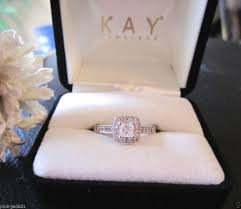 Kay Jewelers Wedding Rings Sets by Engagement Rings 3 Stone Diamond Ring 1 1 2 Ct Tw Princess Cut