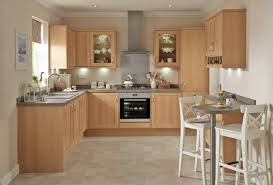 Howdens Kitchen Design by Greenwich Light Oak Shaker Style Kitchen Youtube