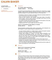 Samples Of Resume Formats by How To Write A Marketing Resume Hiring Managers Will Notice Free