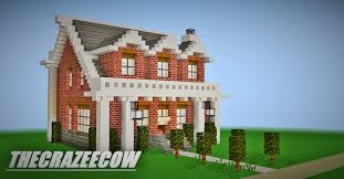 Brick House by Minecraft Small Brick House Tour Youtube