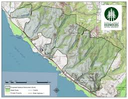 Henry Cowell State Park Map by Santa Cruz Redwoods National Monument Campaign Santa Cruz Waves