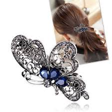 butterfly hair clip luxury hair accessories fashion women trendy