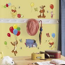 winnie the pooh u0026 friends wall decals wall2wall