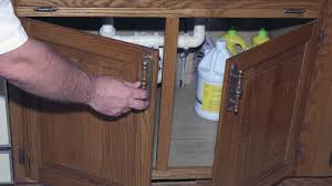 how do you install cabinet door hinges reference com
