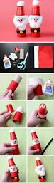 26 super easy christmas crafts for kids to make plastic cups