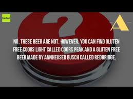 is bud light gluten free is bud light gluten free youtube