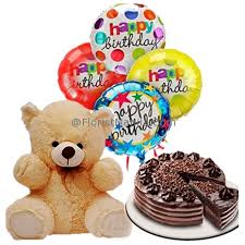 balloon delivery teddy with cake and balloon delivery to manila philippines