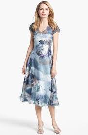 komarov print chiffon dress available at nordstrom rehearsal