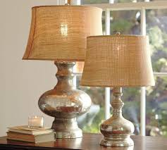 selecting the correct size for your mercury glass table lamp