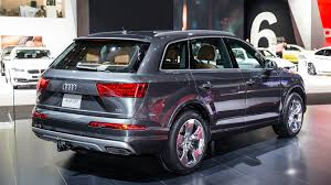 audi q7 2017 audi q7 technological highlights of the new redesign