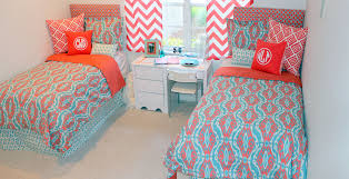 Gray And Turquoise Bedding Coral Bedding Sets Color Laluz Nyc Home Design