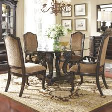 nice den furniture sets round glass dining room table and 4