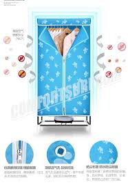 900w electric wardrobe clothes dryer 2 layers 15kg indoors fast