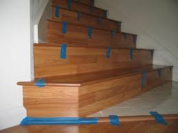 Install Laminate Flooring In Basement Flooring Duck Egg Coloured Risers With Led Tread Lighting Make