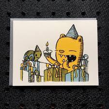 happy birthday bear notebook paper greeting card u2013 everyday