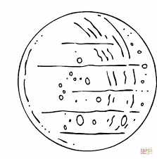 planet mercury coloring free printable coloring pages