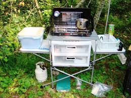 perfect camp kitchen all about house design make a folding camp