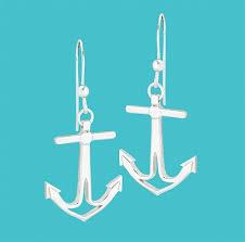 anchor earrings cape coastal design anchor earrings