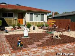 Front Yard Landscaping Ideas No Grass - lawn conversion transformation tips how to native plant
