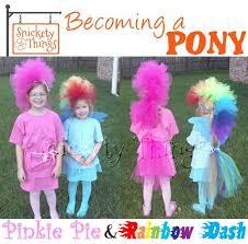 Pony Halloween Costume Girls 22 Pony Images Birthday Party Ideas
