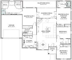 master house plans complete house plans 2306 sq ft 2 masters ada bath masters