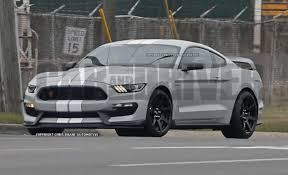 Silver Mustang With Black Stripes Avalanche Gray With White Stripes The Mustang Source Ford