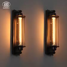 industrial halogen light fixtures loft vintage wall l with edison t300 halogen bulb industrial rust