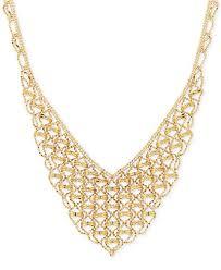 collar gold necklace images V shape fancy link collar necklace in 18k gold necklaces tif