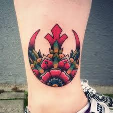 250 most memorable star wars tattoo rebel alliance tattoo