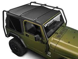 cargo rack for jeep wrangler barricade wrangler roof rack textured black j100172 97 06