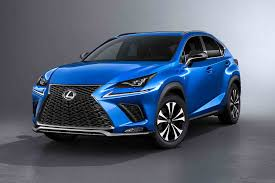 sporty lexus blue 2018 lexus nx gets a refresh in shanghai motor trend