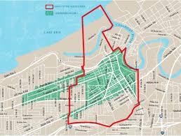 Map Of Cleveland Ohio Design Review Ohio City