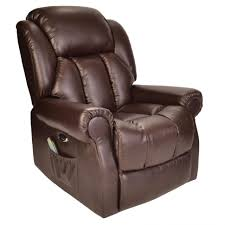 furniture home hainworth electric recliner brown recliner chair