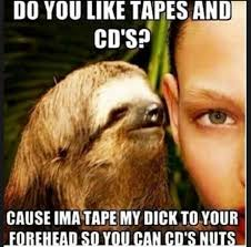 Asthma Sloth Meme - 22 best creeper sloth images on pinterest bed sloths and fitness