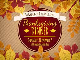 pasadena primetime thanksgiving dinner paznaz