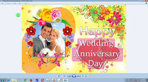 wedding wishes editing happy wedding anniversary day greeting card designing in photoshop