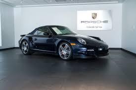 2008 porsche 911 turbo cabriolet 2008 porsche 911 turbo cabriolet for sale in colorado springs co