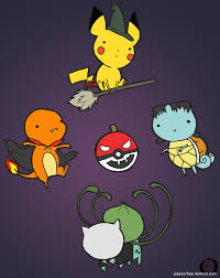 pokemon halloween by little asya on deviantart