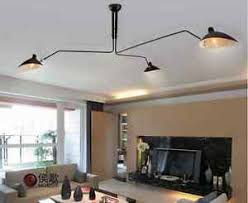 3 arm ceiling light serge mouille style 3 arm ceiling l plafonnier 3 bras pivotants